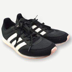 Adidas Black White V Racer 2.0 Sneaker Shoes 8